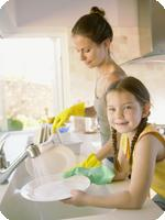 Clean home with your kids