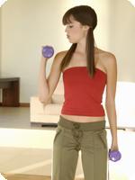 Fitness Test Result Gym Girl