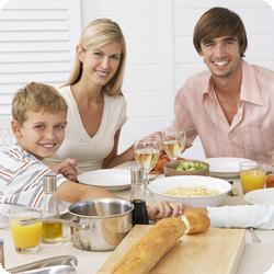 Healthy Family With Kids