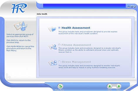 Health Reviser Health Assessment