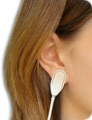 Doing Biological Age Test: Attach ear-clip on your earlobe or a finger